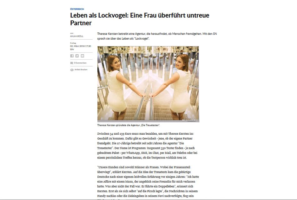 Salzburger Nachrichten 02.03.2018
