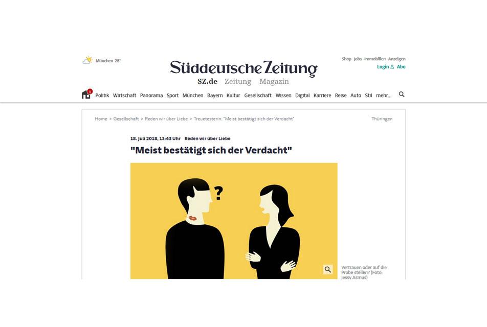 """SZ """"Reden wir über Liebe"""" 18.07.2018"""