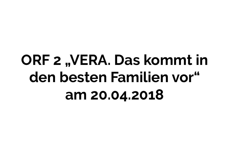 ORF 2 20.04.2018