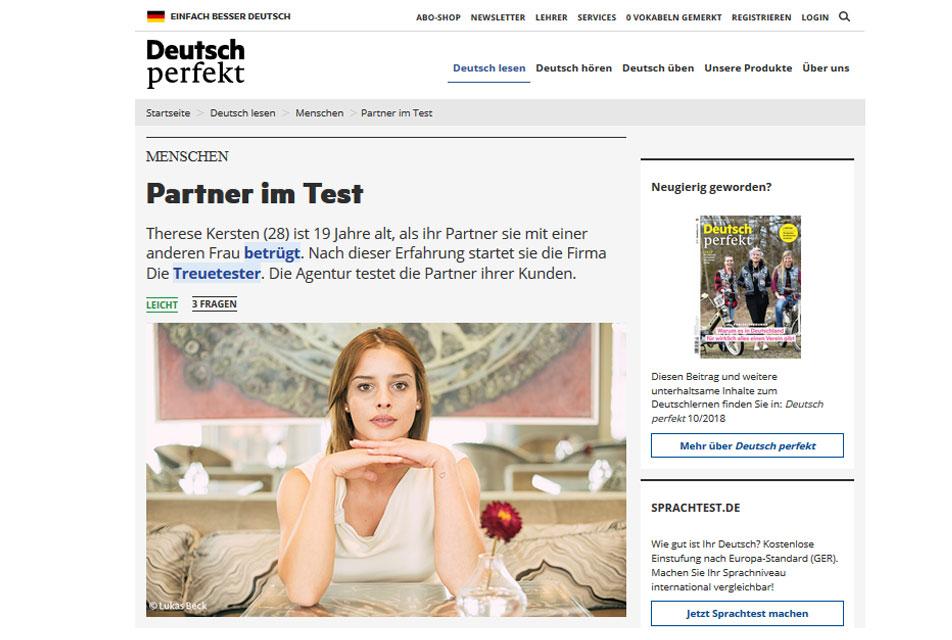 Deutsch Perfekt 10/2018