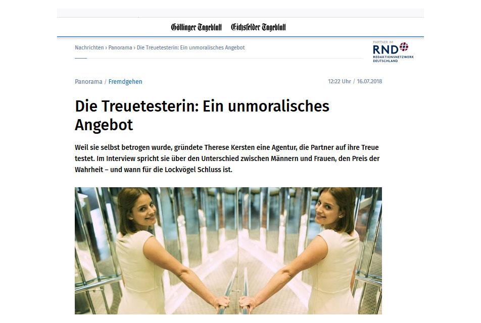 Göttinger Tageblatt 16.07.2018