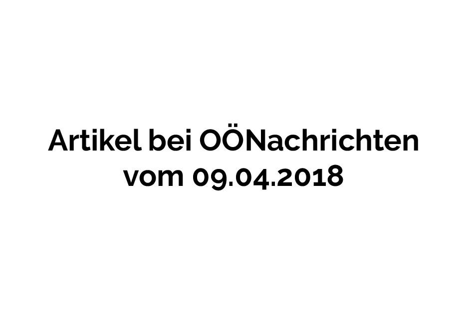 OÖ Nachrichten 09.04.2018