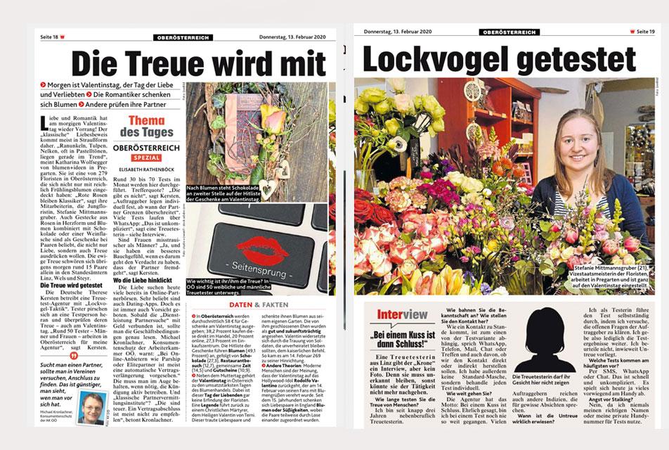 Kronen Zeitung 13.02.2020