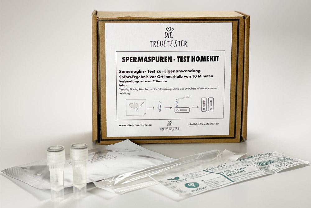 Spermaspurentest-Homekit